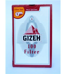 1 Box Gizeh Filter Tips 8mm
