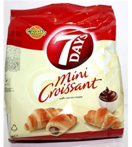 7 Days Mini Croissant From Greece (with cocoa filling)