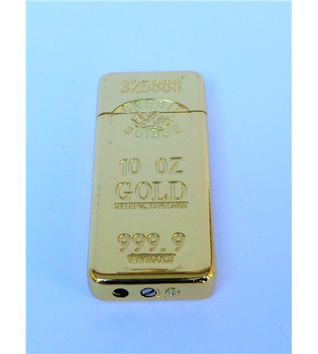 Gold Bar Gas Lighter