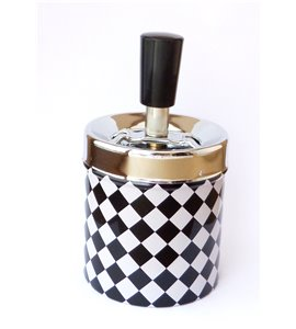 Amazing Ashtray Made of Good Quality Material Metal