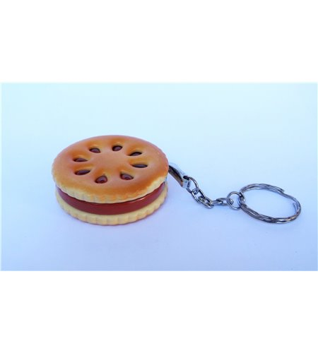 Hamburger Lighter With KeyChain