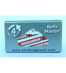 ROLL Smoking Deluxe Rolling Paper SILVER