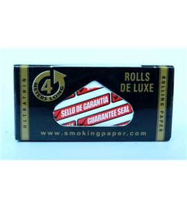 ROLL Smoking Deluxe Rolling Paper Black