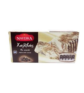 Original Traditional Greek Halva With Cocoa 400 gr